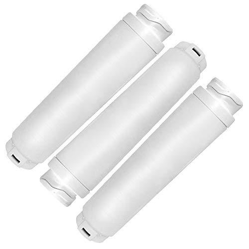 Spares2go - Cartucho de filtro de agua compatible con Rangemaster refrigerador, equivalente a 644845 WF25 BWF644 KWF1000 RF280019 FI50Z000 (paquete de 3)