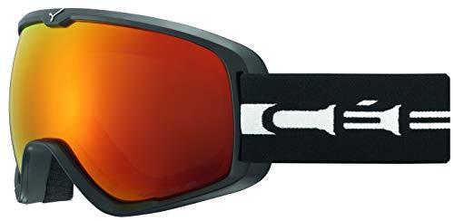 Cébé Erwachsene Artic L Skibrillen, schwarz (Matt Black White), Medium