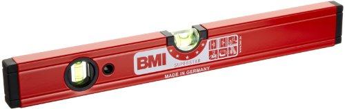 BMI 699040M Wasserwaage Superstar, Länge 40 cm, pulverbeschichtet, mit Magnet