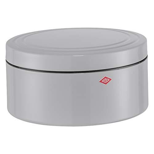 WESCO 324 402–76 Classic Line Boîte pâtisseries, Acier Inoxydable, Gris, 24 x 24 x 12,5 cm