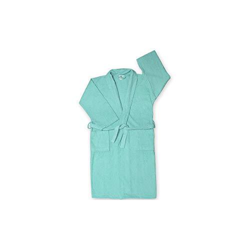 Winkler Peignoir éponge Chale Turquoise Taille M