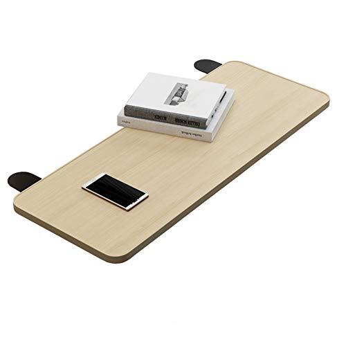 ACXZ Bandeja de Teclado Plegable, cajón de Teclado de Madera Maciza, Desk Extender para el hogar/Oficina, Color Roble (52 × 25 cm, 65 × 25 cm, 75 × 25 cm)