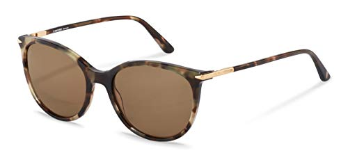 Rodenstock Sonnenbrille La Classica Sun R3322 (Damen), leichte Panto-Sonnenbrille mit Sun Contrast Gläsern, runde Sonnenbrille aus hochwertigem Acetat