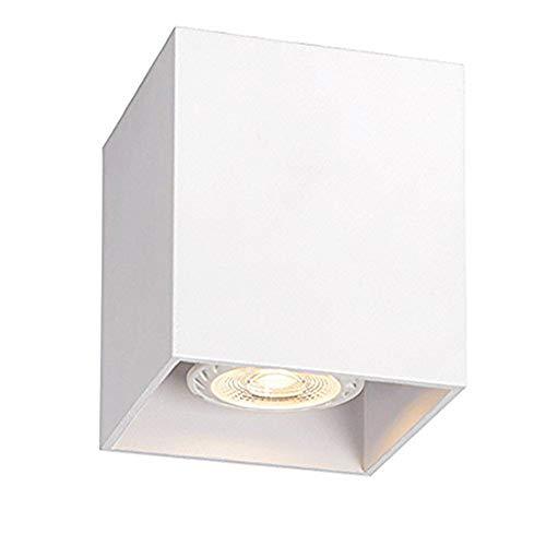 LED Aufbaustrahler Deckenlampe Deckenleuchte Strahler Downlight design Deckenstrahler flur GU10 CE 230v (weiß)