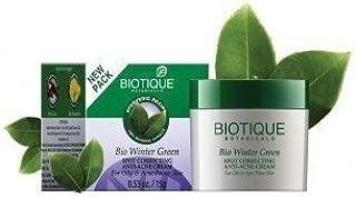 Biotique Bio Winter Green Spot Correcting Anti-Acne Cream 1 5Gm