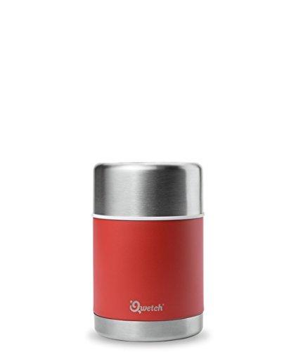 Qwetch Boîte repas isotherme 500 ml – Maintient vos repas au chaud pendant 5 heures & au frais pendant 7 heures...