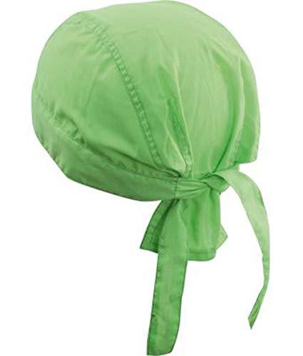 noTrash2003 Design Bandana Cap Mütze Kopftuch für Sport und Freizeit (Lime)