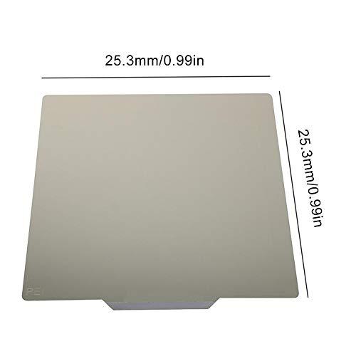 Blue-Yan 235 235 3D PEI Printer Construction Board, High Temperature Resistant Magnetic Flexible Heating Board, Suitable For Ender-3, Ender-3pro, Ender-5, CR-20, CR20PRO