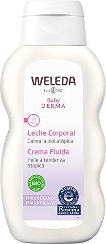 WELEDA Leche Corporal de Malva Blanca (1 x 200 ml) - 200 ml.