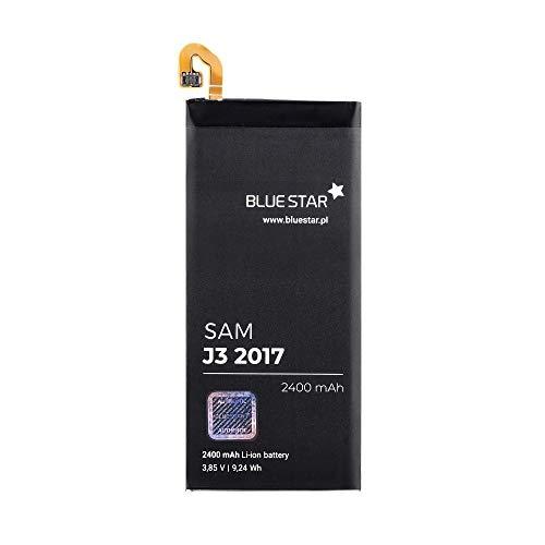 Blue Star Premium - Batería de Li-Ion litio 2400 mAh de Capacidad Carga Rapida 2.0 Compatible con el Samsung Galaxy J3 2017 / J330F