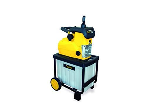 Garland CHIPPER 355 - Biotrituradora eléctrico Max. 2.800 W - Tritura hasta 4,5 cm, 60EL-0019