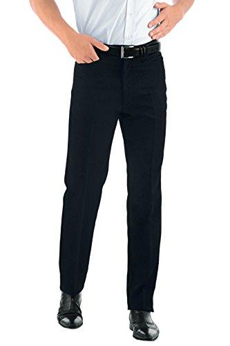Pantalon Homme Noir Coupe Cigarette