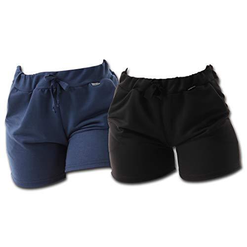 Kit 2 Shorts Moletinho Click Feminino com Bolso Sortidos