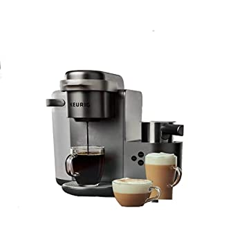 Keurig K-Cafe C Single Serve K-Cup Pod C Latte and Cappuccino Maker 12 Nickel