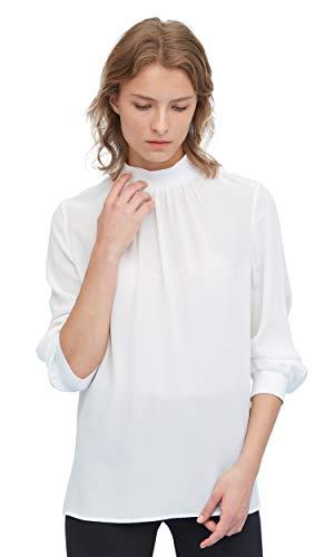 LilySilk Zijde Coltrui Blouse voor Vrouwen Lange Mouw Designer Pure 100 Zijde Top Shirt Zacht