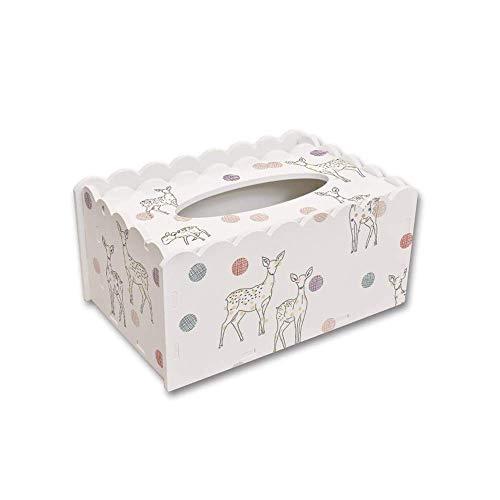 XF Kosmetiktücherboxen Hygienetuch Box-DIY Nette kreative multifunktions Hause Wohnzimmer couchtisch Fernbedienung lagerung Desktop hygienesequarium Halter & Spender (Farbe : Simple)