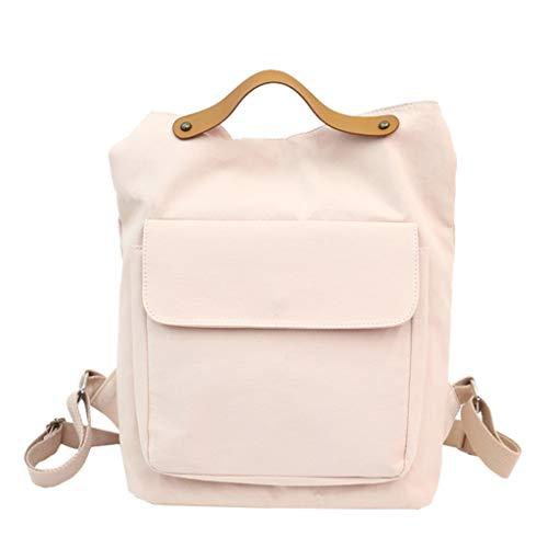 Rucksäcke Dasongff Vintage Rucksack Damen Herren Laptop Daypack Rucksacktasche 2 in 1 Arbeit Reise Umhängetasche Multifunktionale Schultaschen