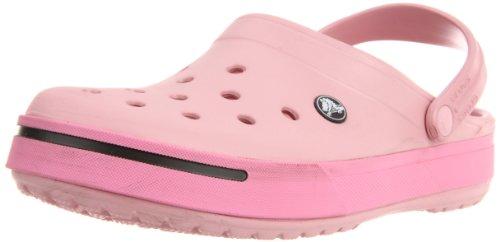 crocs Unisex-Erwachsene Crocband Clogs, Rot (Petal Pink/Pink Lemonade), 36-37