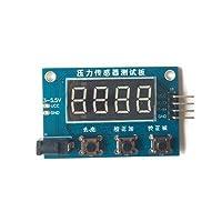 HX711圧力センサー計量電子スケールモジュールデジタルチューブディスプレイ(HX711モジュールなし)