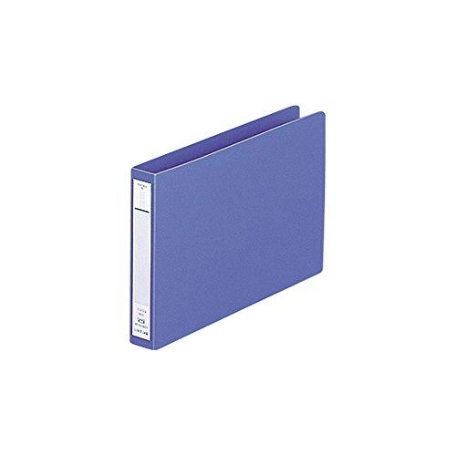 リヒトラブ パンチレスファイル B6E 藍 F373-9