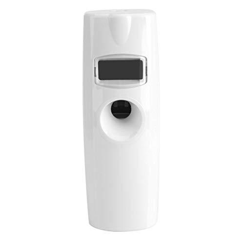 Dispensador automático de aerosol ambientador, pantalla LCD Dispensador automático de fragancia de aroma Dispensador de aroma Sala de pulverización para sala de oficina, sala de estar, etc