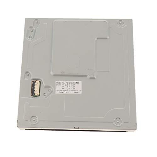 perfk Lecteur de Disque DVD-ROM RD-DKL034-ND Accessoire de Remplacement pour Console de Jeu Vidéo Nintendo Wii U