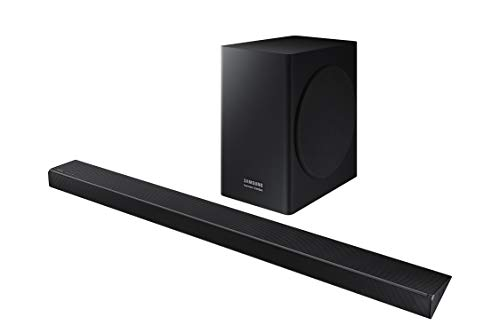 Samsung Harman Kardon 5.1 Soundbar HW-Q60R with Wireless Subwoofer, Samsung Acoustic Beam Technology, Adaptive Sound, Game Mode, 4K Pass-Through with HDR, Bluetooth Compatible, 360-Watts