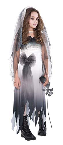 Disfraz de Novia Cadver Para Adolescentes en Varias Tallas Para Halloween
