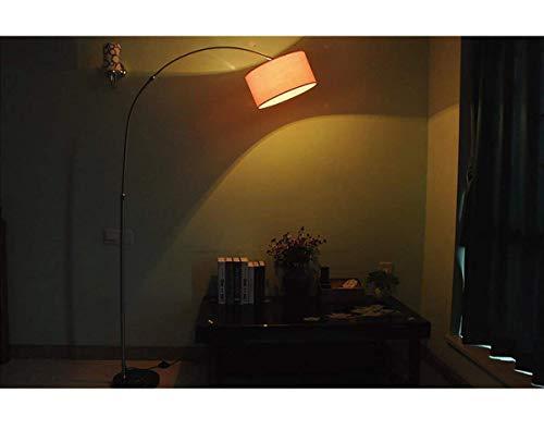 JBP Max staande lamp woonkamer lamp LED vloerlamp woonkamer slaapkamer leren piano licht, geen roest, uitbreiding, lichtmast-4