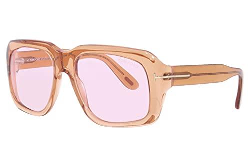 Tom Ford Gafas de Sol BAILEY-02 FT 0885 Transparent Light Brown/Light Pink 57/18/140 mujer
