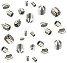 hexagon 10 pieces threaded sockets M8 X 40 SW13 stainless steel A2