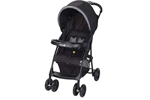 Safety 1st 1231666000 Buggy Taly, zusammenfaltbarer und individuell verstellbarer Kinderwagen, nutzbar ab der Geburt bis 3-5 Jahre, black chic (schwarz)