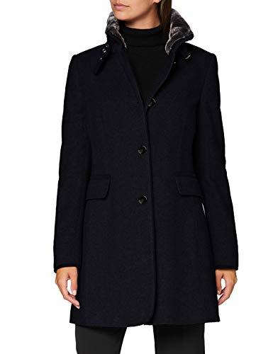 Gil Bret Outdoor Mailand Cappotto di Lana, Melange Blu Scuro, 48 Donna