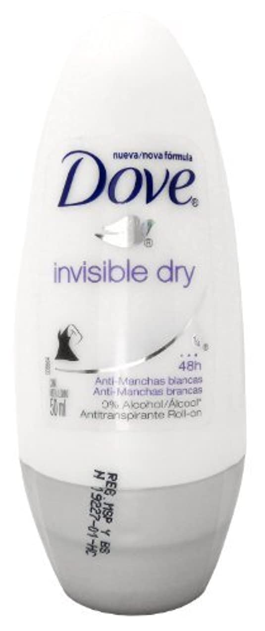 しかしながら社会学ペルセウスDove Invisible Dry 48 Hs Anti-perspirant Roll-on Deodorant. 50 Ml by Dove [並行輸入品]