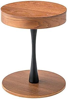 東谷(Azumaya-kk) サイドテーブル ブラウン 本体サイズ:W40×D40×H49 PT-616