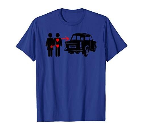 Herren Trabant Liebe - Trabi 601 Trabbi 1.1 P50 witziges Trabant T-Shirt