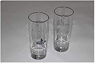 Jack Daniel's Whiskey Highball Glass (Set of 2)