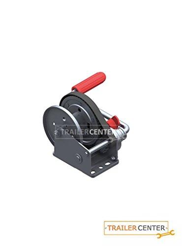 AL-KO Argano a Fune frenato Basic • Tipo 450 A con avvolgimento Automatico • Senza Corda/Nastro Fino a 450 kg
