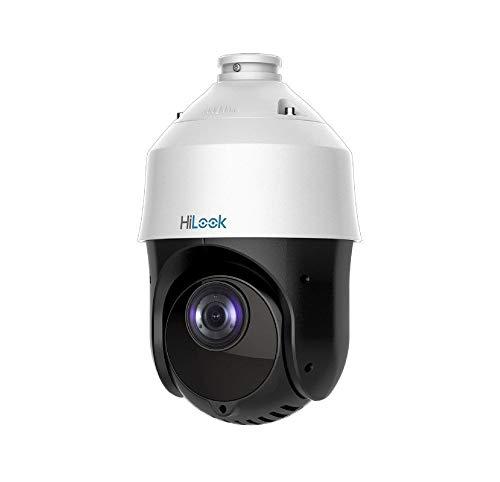 HiLook PTZ-T4225I-D - Cámara de vigilancia (Cámara de Seguridad IP, Interior y Exterior, Almohadilla, Negro, Blanco, Techo, IP66)