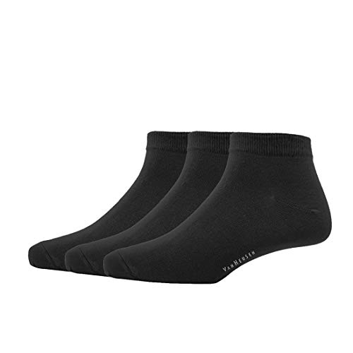 Van Heusen Men's Cotton Ankle length Socks (Pack Of 3)