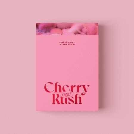 ★ポスター丸めて★ CHERRY BULLET - 1ST MINI ALBUM [ Cherry Rush ] 韓国盤