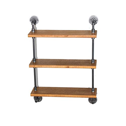 Purchase ZH Shower Caddies Retro Wrought Iron Wall Hanging Bar WiFi Wall Decoration Shelf Original S...