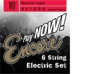Encore EES10 - Juego de cuerdas para guitarra eléctrica