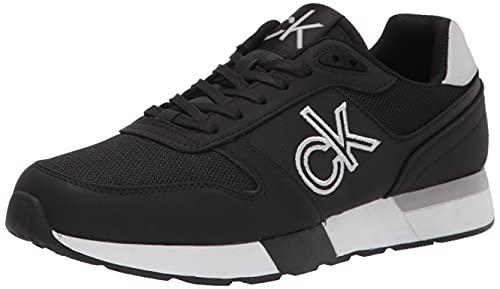Calvin Klein Men's Arlo Sneaker, Black, 9