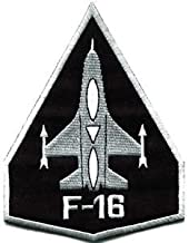 F-16 Fighting Falcon Usaf Air Force Jet Aircraft Applique Iron-on Patch S-617 Cute Gift to Your Cloth Fast Shipping