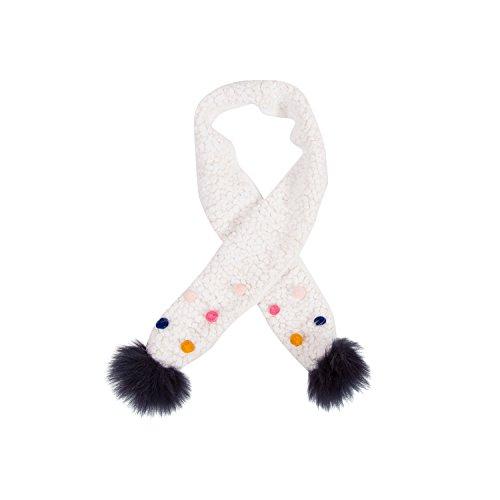 Catimini Catimini Baby-Mädchen Echarpe Tricot Pour Schal, Beige (Écru 11), X-Small (Herstellergröße: T0)