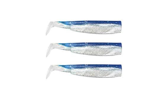 FIIISH Black Minnow 90-3 Cuerpos de señuelo - Color: Azul