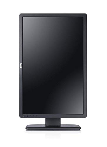 Dell Professional P2213 22 inch Widescreen LED Monitor - Black (1680x1050, VGA, DVI-D, DisplayPort, 5ms, 1000:1, 60Hz, USB 2.0) (Renewed)