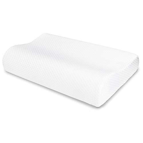 VECELO Memory Foam Contour Pillow, for Side...