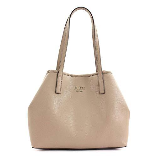 Guess Vikky Large Tote damen, handtasche, grau, One size EU